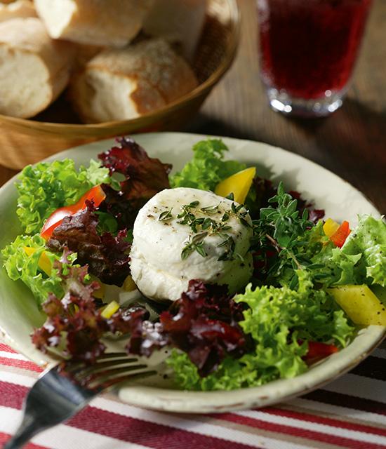 salat mit ziegenk se honig und thymian harry brot. Black Bedroom Furniture Sets. Home Design Ideas